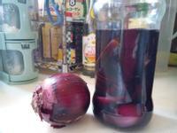 用剩的紅酒 浸 洋蔥