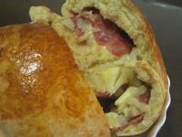 [氣炸鍋料理]培根起司洋蔥麵包