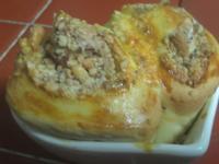 [氣炸鍋料理]堅果肉桂捲