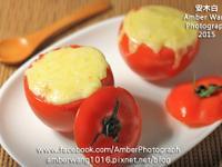 白醬焗烤蕃茄飯