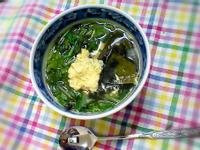 菠菜海帶蛋花湯