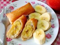 炸香蕉(香蕉吐司捲)