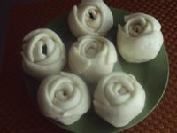 玫瑰豆沙包