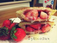 草莓吐司盒鷹牌煉奶