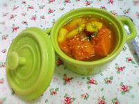 無鹽料理 - 當歸薑黃南瓜黃帝豆湯(素)