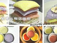 好吃、好玩的《彩米三明治飯糰》