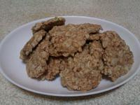 燕麥碎堅果餅乾(低熱量)