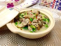 白醬蘑菇豬腳