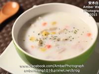 白醬玉米芋頭牛奶粥