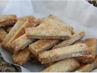 「無蛋無奶油」 白芝麻味噌餅乾