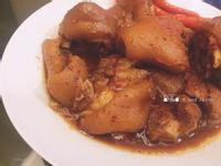 薑燒紅麴豬腳(電鍋年菜料理)