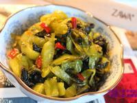 開胃小菜:炒酸菜