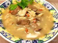 麻油虱目魚豬肝粥
