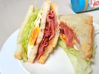 花生醬培根三明治