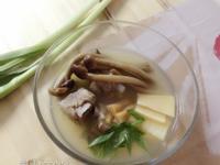 節氣料理大寒NO.6❤冬筍茶樹菇排骨湯❤
