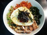 韓式石鍋拌飯(平底鍋版)