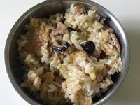 松本茸小松阪肉炊飯(菇菇炊飯)