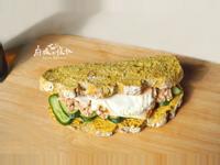 ⋐鑄鐵鍋麵包⋑ 燕麥咖哩堅果三明治