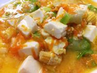 蟹黃絲瓜燒豆腐