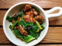 麻油蔥燒雞(便當菜)