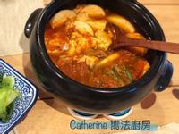 「甜栗」招牌菜~嫩豆腐鍋