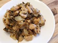 梅乾菜炒豬肉(超下飯料理)