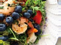 冬季健康餐‧藜麥檸檬鮮蝦沙拉