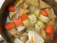 油豆腐玉米湯