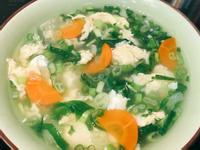 小白菜蛋花湯