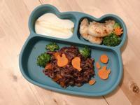 牛奶咖喱燉飯&香脆煎魚 寶寶副食品 共食
