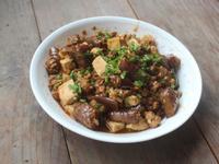 茄子麻婆豆腐