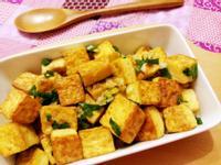 香煎椒鹽雞蛋豆腐丁