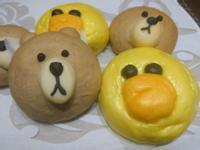 熊大&莎莉造型饅頭