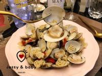 白酒蛤蜊蒜香義大利麵❤️