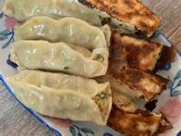 純素 芹菜豆腐鍋貼