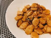 蜜汁杏鮑菇(五辛素)