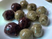 紅豆泥/綠豆泥 涼圓