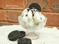 自製OREO冰淇淋*3種材料-免冰淇淋機