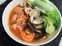 [減醣] 海鮮偽麵