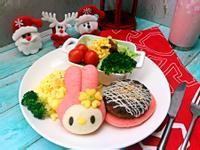 美樂蒂豬肉漢堡早午餐