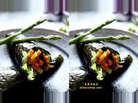 南瓜手卷 簡單蔬食料理