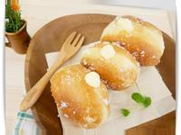圓滾滾「卡士達甜甜圈」有餡兒、會爆漿 ♪