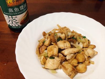 洋蔥炒菇菇雞【百分百堅持】