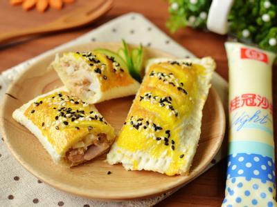 鮪魚洋蔥派【滿分早點×桂冠沙拉】