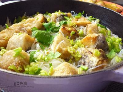 土魠魚米粉湯