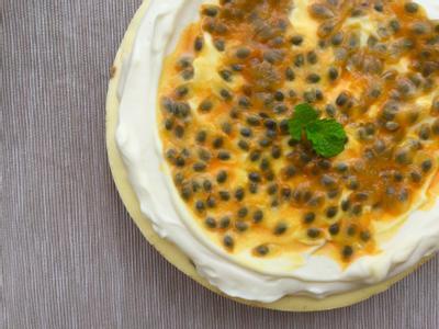 百香果重乳酪蛋糕