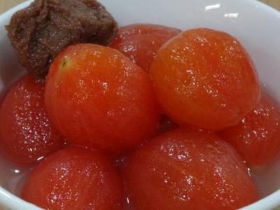 梅子蜜番茄