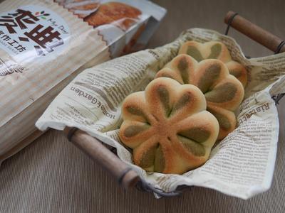 抹茶幸運草麵包【麥典麵包專用粉】