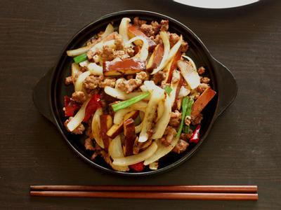 辣椒小魚炒豆干豪華版
