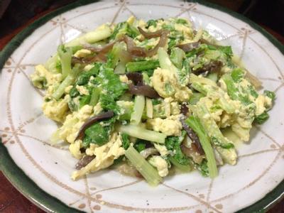 蛋香小白菜